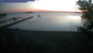 Live images from Appeldoorns Sunset Bay Resort Mille Lacs Lake, MN